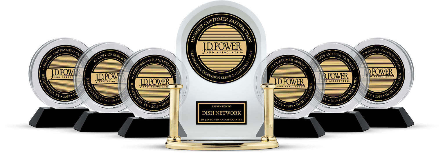 DISH Customer Satisfaction - Ranked #1 by JD Power - Airwave Solutions LLC in New Richland, Minnesota - DISH Authorized Retailer